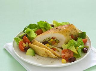 Il petto di pollo ripieno alla messicana