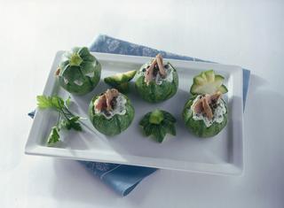 Zucchine ripiene al tonno