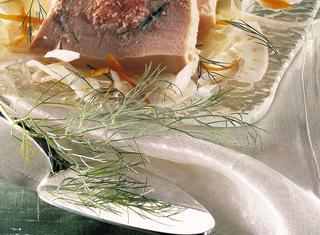 Come preparare la mousse di trota affumicata