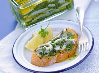 Antipasto con salsa verde