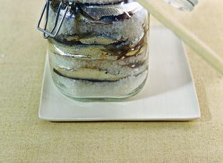 Acciughe fresche sotto sale