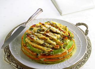 Zucchine spinose gratinate al forno