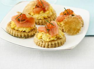 Ricetta: tartine al salmone