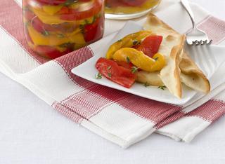 Come si preparano i peperoni in agrodolce