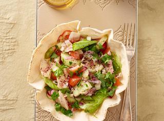 Fattouch (Libano), insalata di pane arabo e verdure