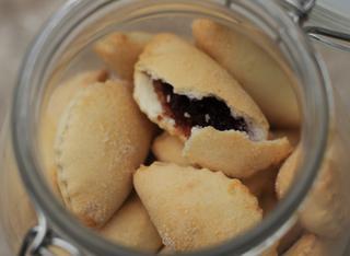 I bocconotti dolci con confettura di cotogne