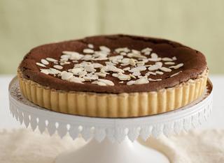La crostata al cioccolato