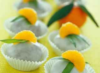 Dolcetti glassati alle clementine