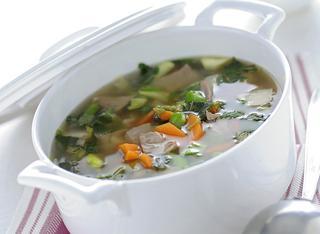 Zuppa d'agnello e verdure