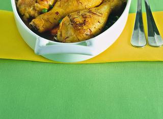 Ricetta: cosce di pollo marinate alle spezie