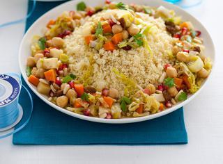 Gran cous cous vegetariano