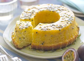 Bolo de maracujá (torta al frutto della passione)