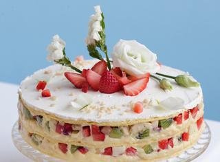 Tortina di crema pasticcera e frutta