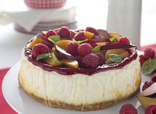 Cheesecake allo yogurt e frutta