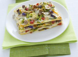 Lasagne di verdure estive