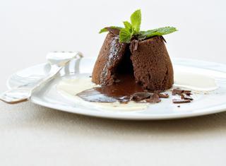 Mini soufflé al cioccolato