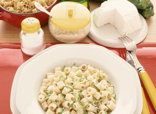 Pasta alle zucchine con ricotta