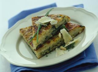 Torta di patate al parmigiano reggiano