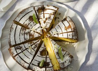 Come fare una torta di pesche