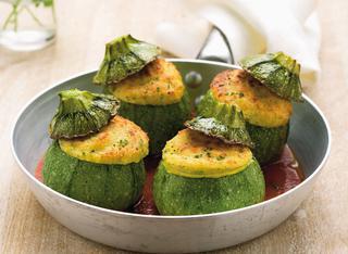 Come cucinare le zucchine tonde