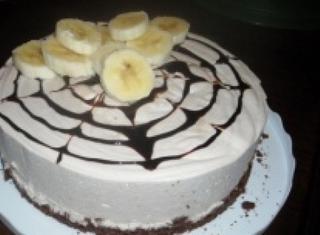 Bavarese alla banana