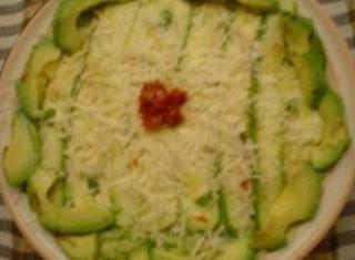 Carpaccio di zucchine al peperoncino e basilico