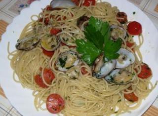 Spaghetti alle vongole alla faby