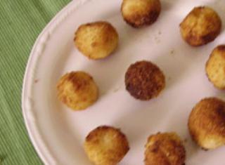 Palline di latte fritto