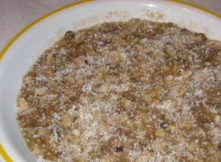 Zuppa mista di cereali e legumi