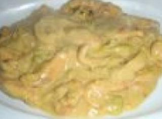Pollo allo yogurt e curry