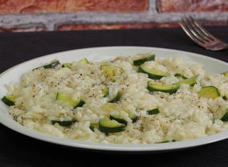 Risotto con le zucchine