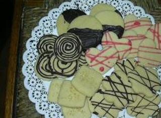 Biscotti di burro e vaniglia