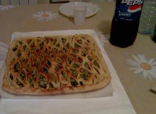 Torta salata zucca, spinaci e ricotta