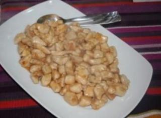 Bocconcini di pollo alla paprika e pompelmo