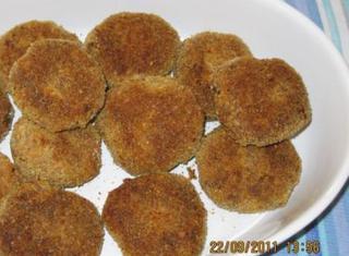 Crocchette di melanzane al forno