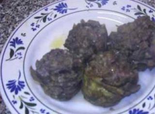 Carciofi ripieni con carne