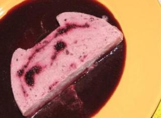 Semifreddo ai frutti di bosco e yogurt