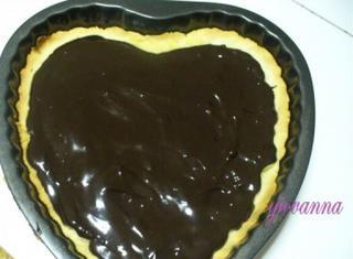 Torta con semolino e cioccolato fondente