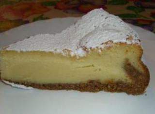 Cheesecake alla ricotta