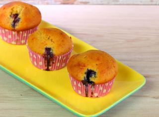 Muffin ai mirtilli light