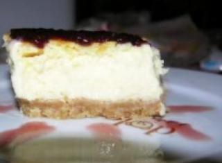 Cheesecake con latte condensato