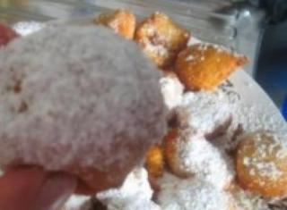 Bombette fritte al cocco