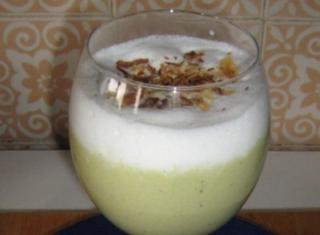Cappuccino di crema di asparagi