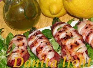 Calamari al profumo di limone light