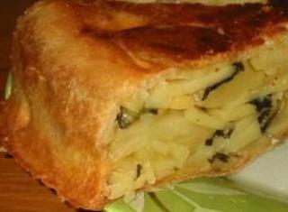 Torta di patate Eleonora
