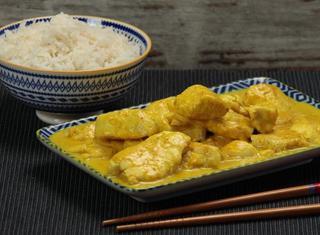Pollo al curry veloce