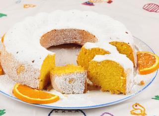 Casatiello dolce all'arancia