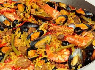 Paella Valenciana tradizionale