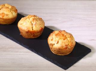 Muffin salati prosciutto cotto e fontal