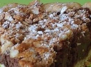 Crostata con frolla agli amaretti e crema di ricotta al cacao